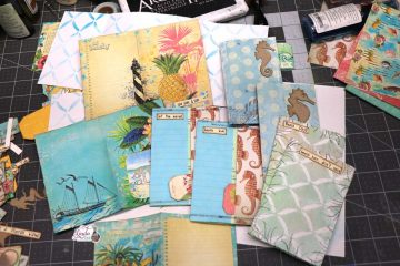 Mini Sea Breeze Junk Journal Tutorial