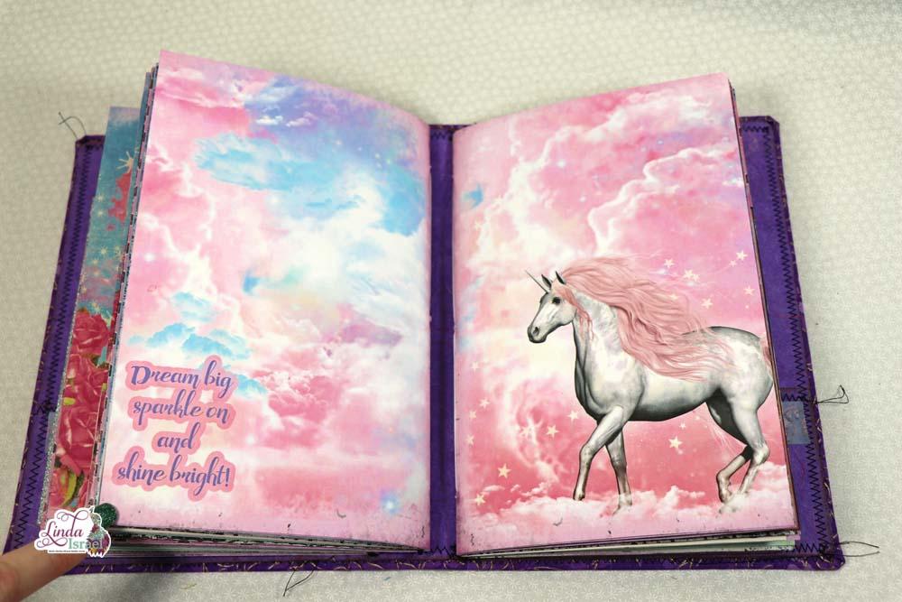 Unicorn Magic Midori Style Junk Journal