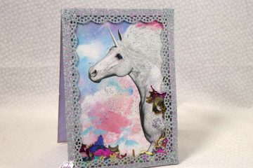 Unicorn Shaker Card Tutorial