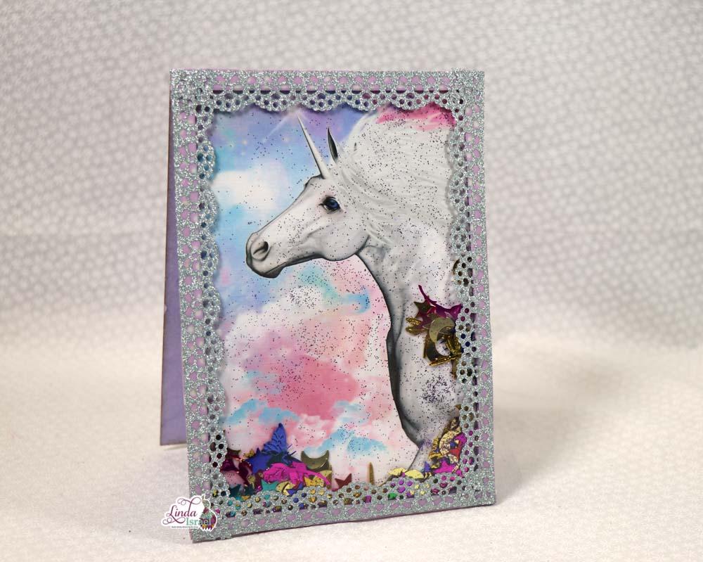 Unicorn Shaker Card Tutorial