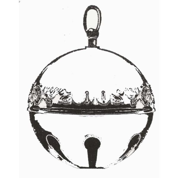CHO117E Sleigh Bell Rubber Stamp