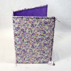 Little Purple Flowers Midori Style Cover