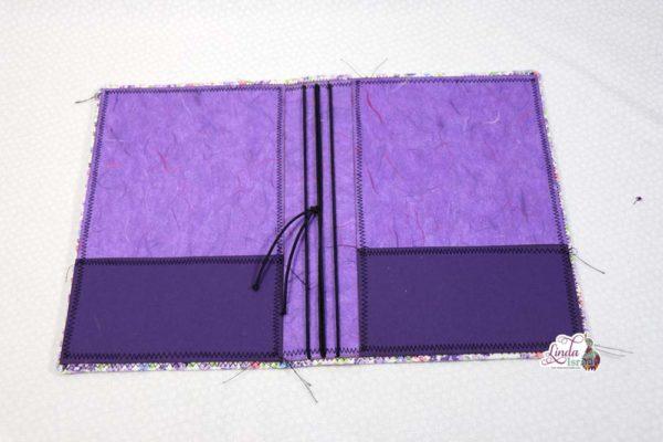 Little Purple Flowers Midori Style Cover