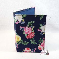 Navy Floral Midori Style Cover