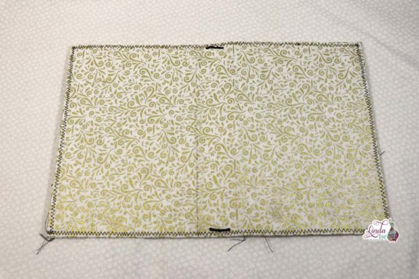 White and Gold Midori Style Cover