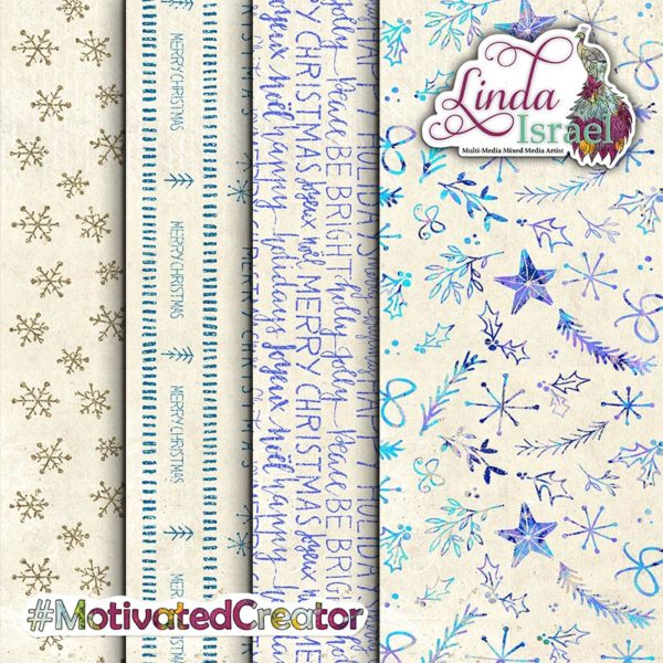 Christmas Peacock Add On Journal Pages Digital Download