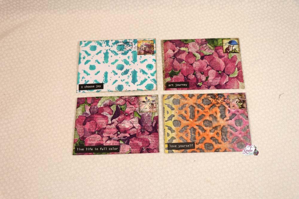 Day 1 Handmade Envelopes of 12 Days of Junk Journal Gift Ideas