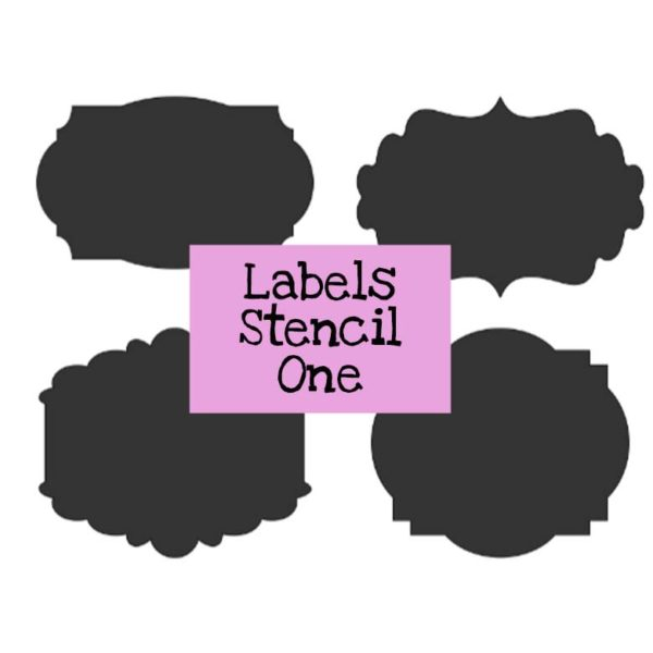 Labels Stencil One
