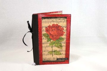 Altered Composition Notebook Junk Journal Tutorial