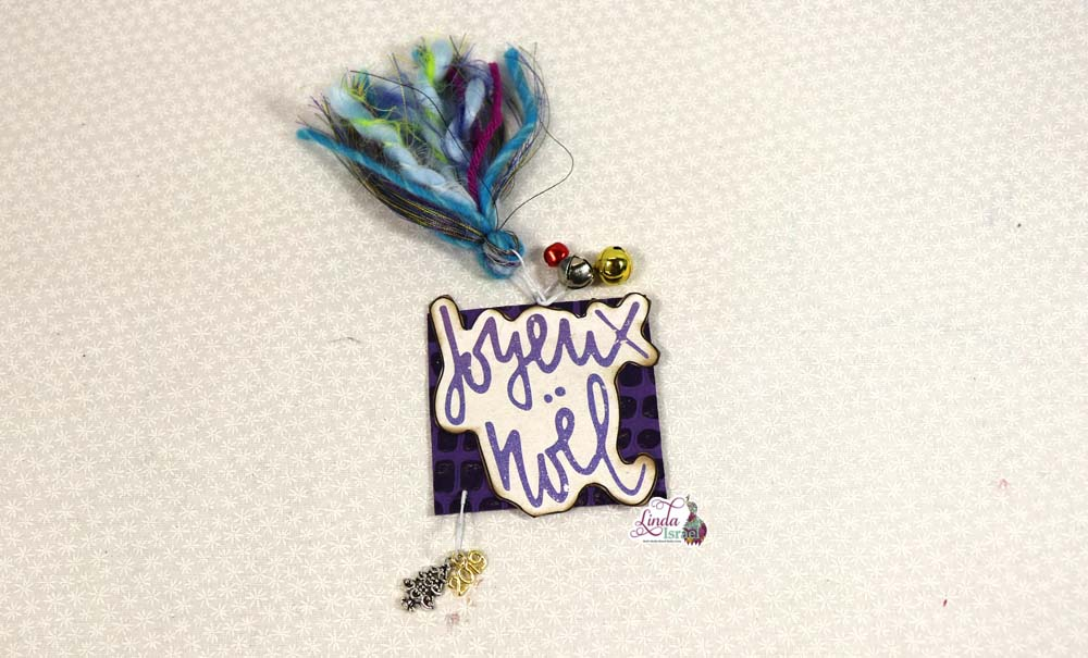 Christmas Peacock Altered Paperclip Tutorial
