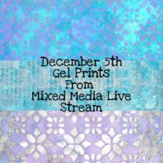 December 5th Gel Prints Digital Download