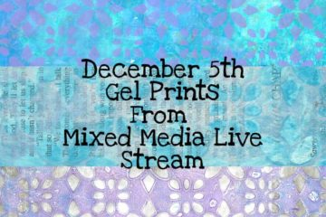 December 5th Gel Prints Digital Download