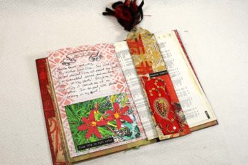 January 12th Creative Prompt Create a journal page around your favorite flower