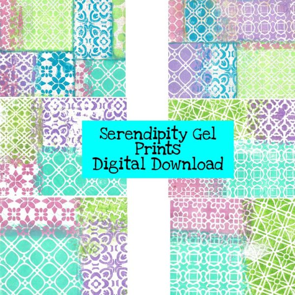 Serendipity Gel Prints Digital Download