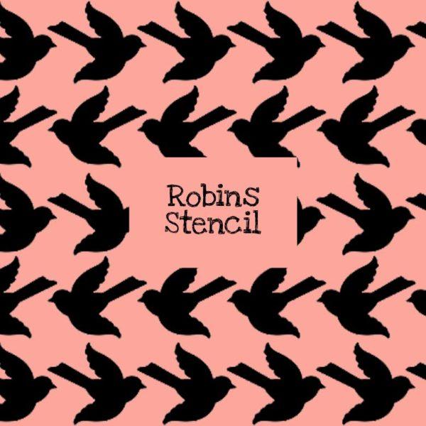 Robins Stencil