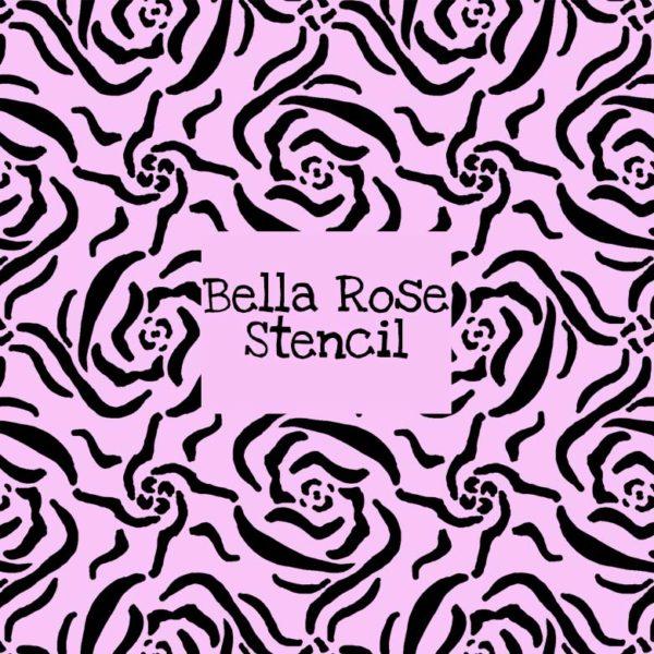 Bella Rose Stencil