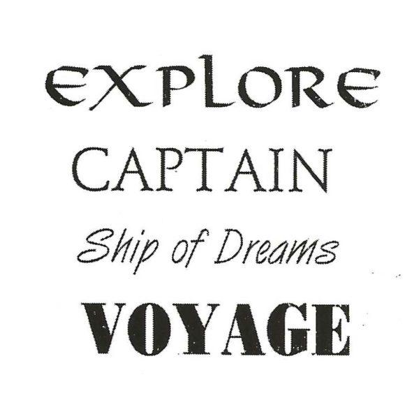 CNA102D Captains Quartet Rubber Stamps