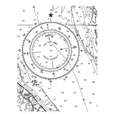 CNA126G Charted Rubber Stamp