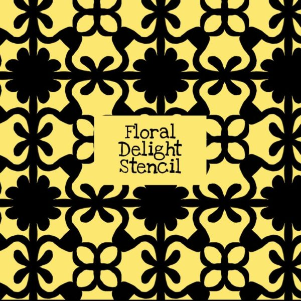 Floral Delight Stencil