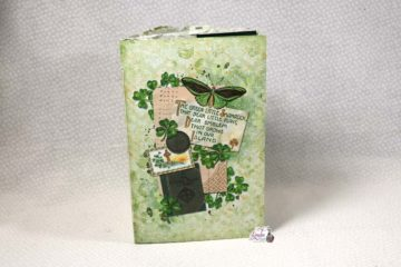 Lucky Little Clover By Calico Collage Junk Journal 7 Page Tutorials