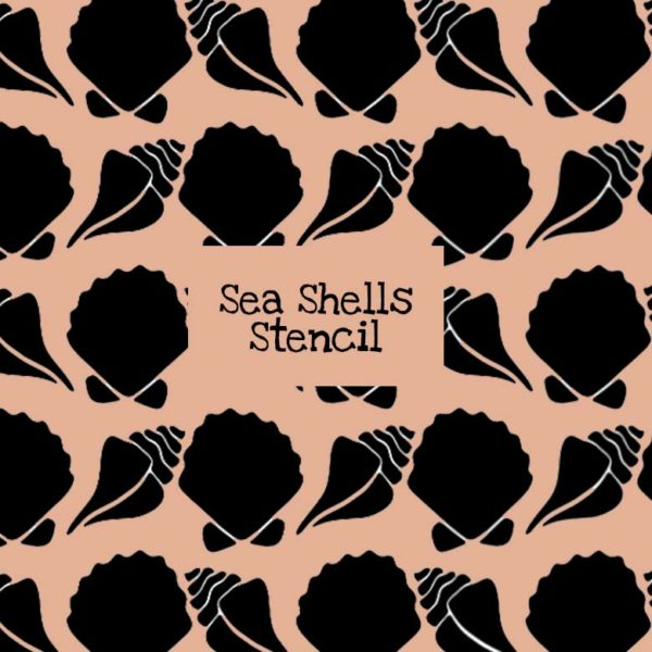 Sea Shells Stencil