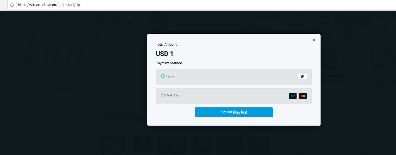 How to Donate using Streamlabs