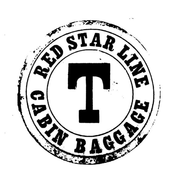 TP402D Red Star Rubber Stamp
