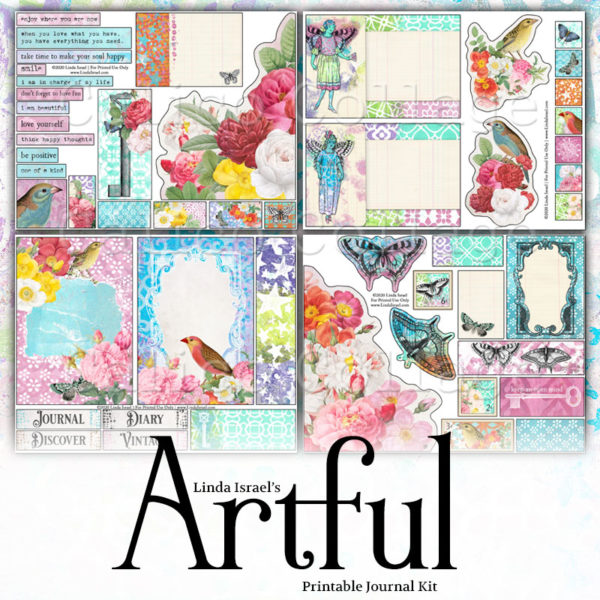 Artful Digital Journal Kit