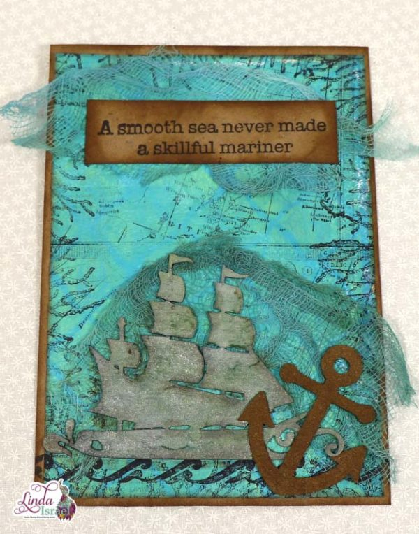 Out To Sea Chipboard Pieces