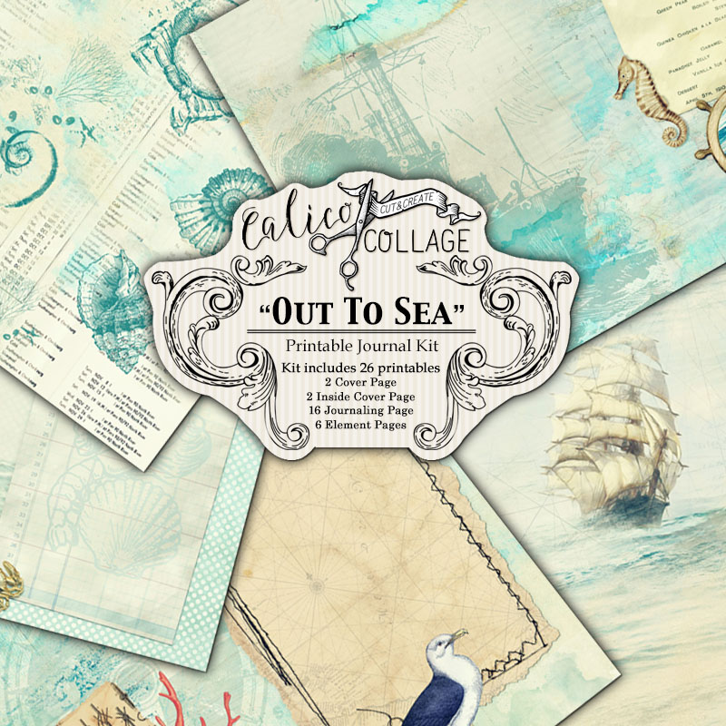 Virtual Subscription Out To Sea Digital Journal Kit