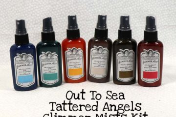 Out To Sea Tattered Angels Glimmer Mists Kit