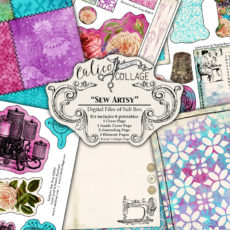 Sew Artsy Digital Journal Kit from Sub Box