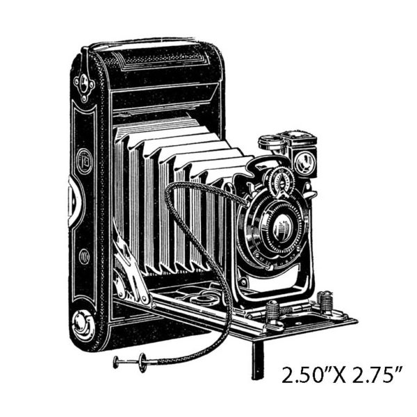 CHC128D Camera Rubber Stamp