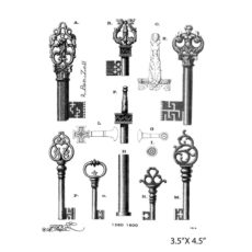 CPA212F Key Play Rubber Stamps