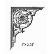 CSE323C Arch Corner SM Rubber Stamp