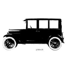 CTP121E Sedan Rubber Stamp