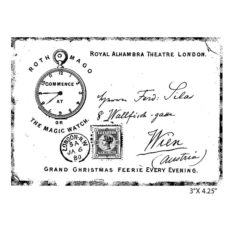 CUK117E Royal Theatre Rubber Stamp
