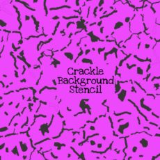 Crackle Background Stencil