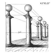 CSE113G Columns Rubber Stamp
