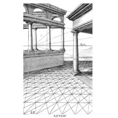 CSE314K Perspective Rubber Stamp
