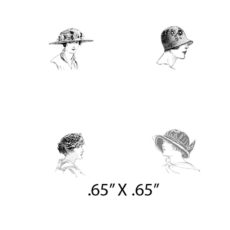 CTP111C Passengers 1 Rubber Stamps