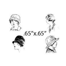 CTP115C Passengers II Rubber Stamps
