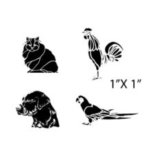 CTP225C Passengers III Rubber Stamps