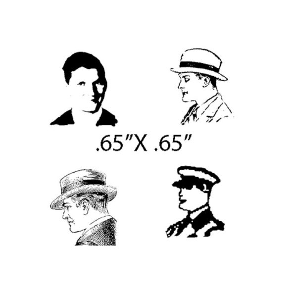 CTP229C Passengers IV Rubber Stamps