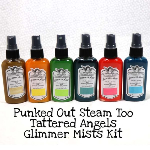 Punked Out Steam Too Tattered Angels Glimmer Mists Kit