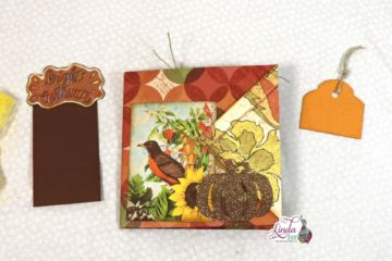 Autumn Folded Folio Tutorial
