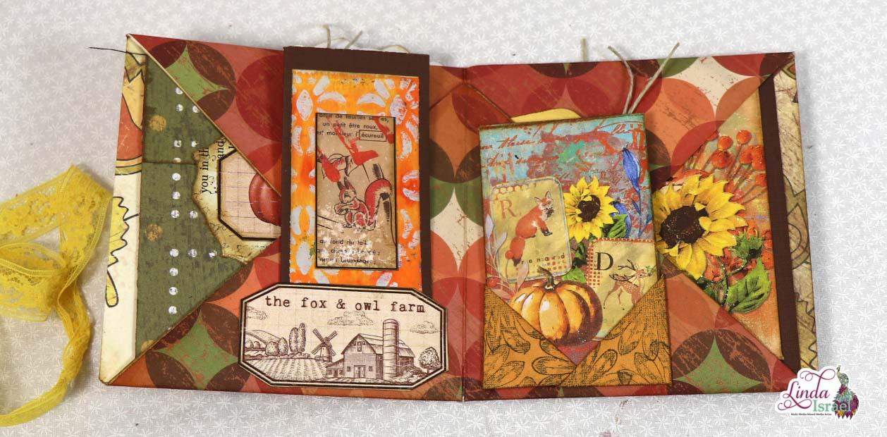 Autumn Folded Folio Tutorial