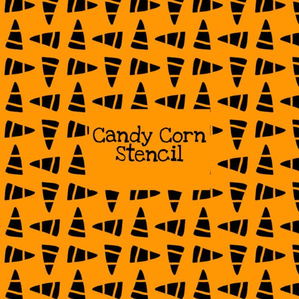 Candy Corn Stencil