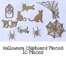 Halloween Chipboard Pieces