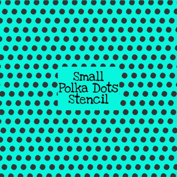 Small Polka Dots Stencil